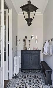 les 25 meilleures idees concernant decoration de couloir With carreaux de ciment entree