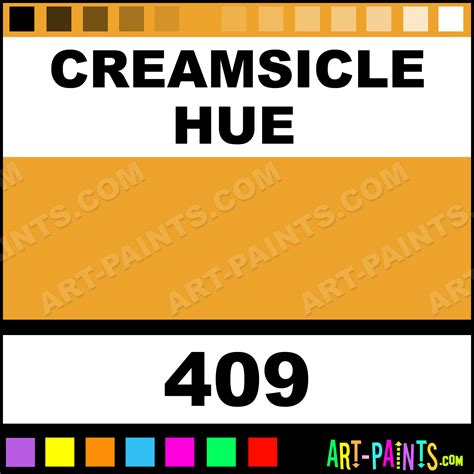 creamsicle dura shimmer ink paints 409