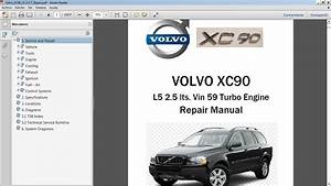Volvo Xc90 2 5t Workshop Repair Manual