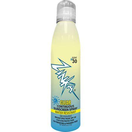 Zinka Clear Spf 30 Zinc Oxide Sunscreen Spray Walmartcom