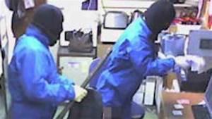 Police hunt masked raiders - ITV News