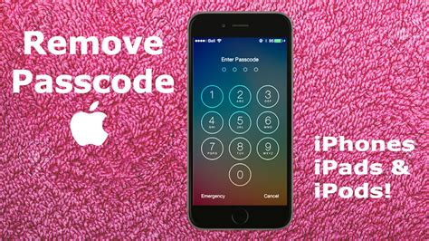 how to unlock a disabled iphone 6 how to remove forgotten iphone 6s 6 passcode tutorial