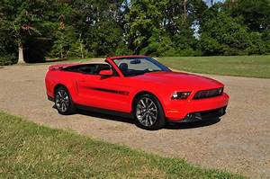 Useful Remnants: My Shiny Red Mustang Convertible
