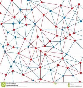 Neuron Net Stock Vector  Illustration Of Network  Pattern