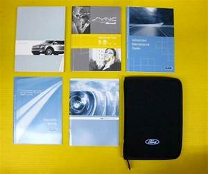 Edge 08 2008 Ford Owner U0026 39 S Owners Manual Set With Case And