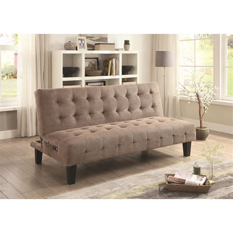 futon sofas sofa beds and futons adjustable sofa bed with usb and