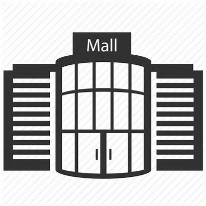 Mall Icon Shopping Department Transparent Building Clipart