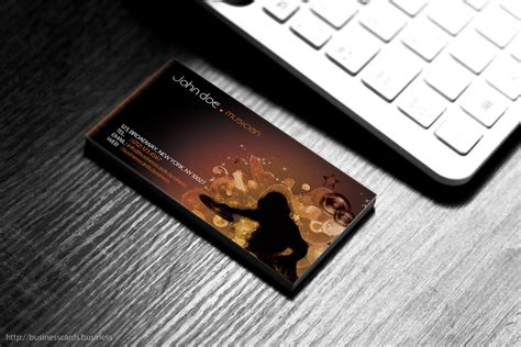 dj business card template business cards templates