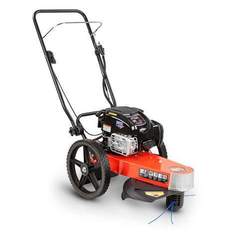 Trimmer Mower: 6.75 Briggs and Stratton (string trimmer ...