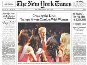 Le New York Times Sexcuse Et Reconnat Avoir T