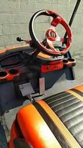 Orange Yamaha Drive Gas Golf Cart  U2013 Carts Unlimited  U2013 Virginia