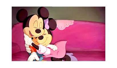 Minnie Mickey Mouse Hugs Hug Hugging Cartoon