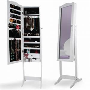 Miroir Boite A Bijoux : armoire bijoux miroir armoire miroir sur pied coffre ~ Teatrodelosmanantiales.com Idées de Décoration