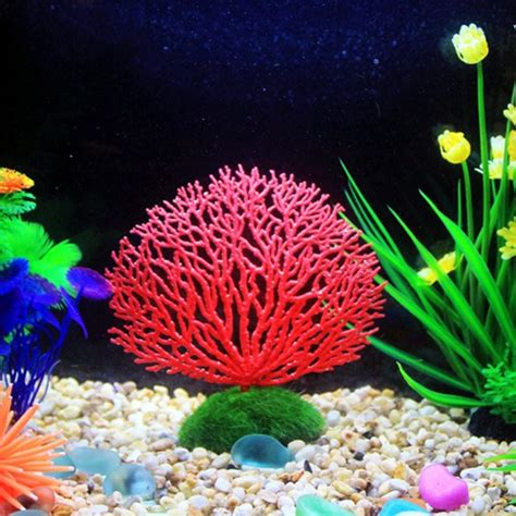 aquarium decor de fond seabed simulation coral landscape fish tank ornaments aquarium decoration fish tank simulated