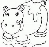 Sujo Hippo Coloring Coloriage Sheets Desenho Hippopotame Colorir Druku Hipopotamo Imprimer Porco Printable Tudodesenhos Groźne sketch template