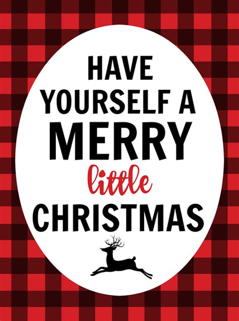 buffalo check printable christmas pinterest