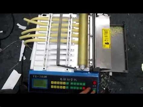auto rubber band cutting machinerubber tube cutting machine youtube