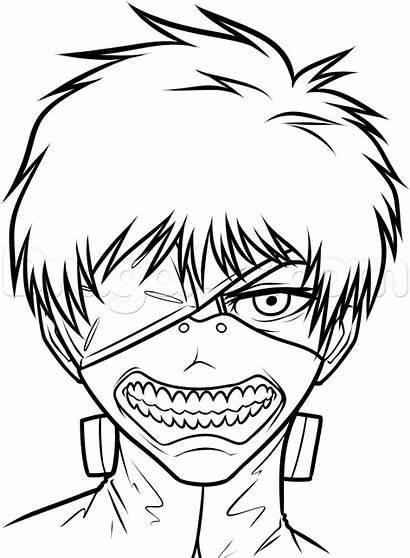 Kaneki Draw Ken Ghoul Tokyo Step Drawing