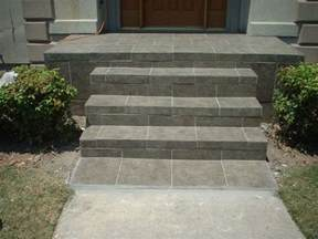 front entrance steps 17 best images about front step ideas on pinterest sted concrete slate tiles and columns