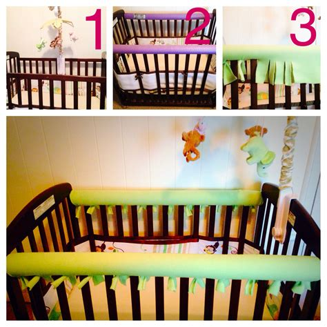 Baby Biting Crib Paint by Diy Crib Rail Saver No More Gnawing On Paint Or Leaving