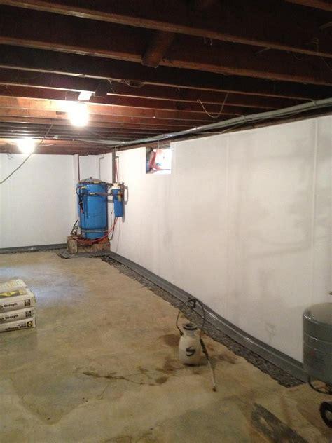 Basement Waterproofing  Brightwall Paneling System