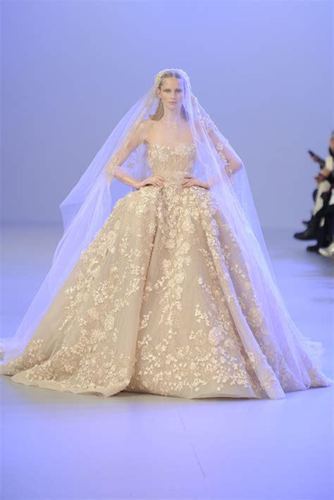 haute couture wedding dresses  spring  weddingelation