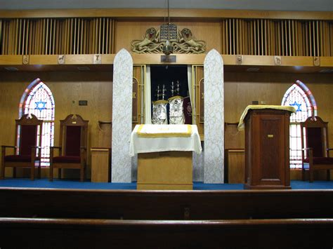 bimah  ark open   torahs jewish community