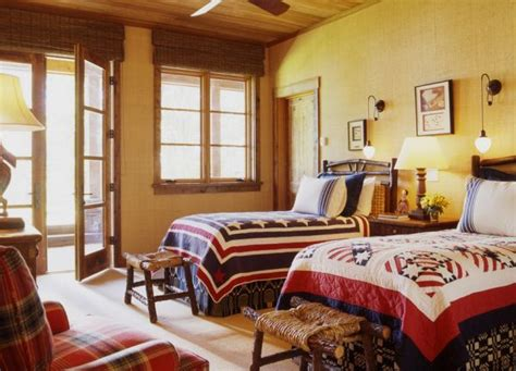 Interiors Inspired By Red, White & Blue