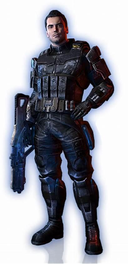 Mass Effect Kaidan Geth Alternate Outfit Members