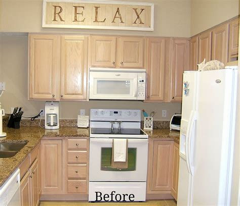 Pickled Oak Cabinets Before And After by Hometalk Kitchen Cabinet Remake Pickled To Beachy