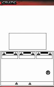 Crate Amplifiers Fxt65 User Manual
