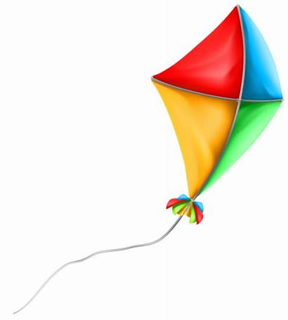 Kite Clipart Colorful Clip Summer Transparent Vacation