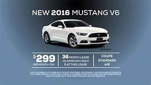 New 2016 Ford Mustang V6 Lease Special Offer from Ford of Orange - YouTube