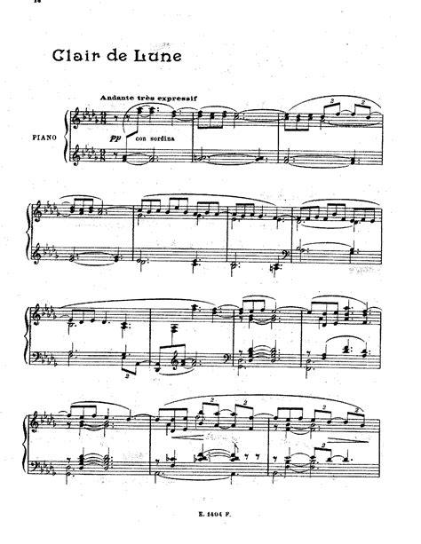 Au Clair De La Lune Piano Sheet Music Easy  Free Easy