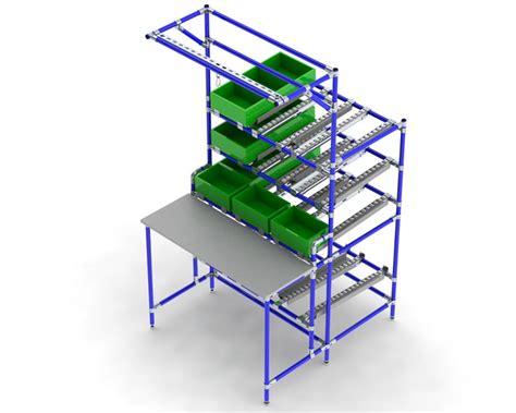 workstations flowtube work benches ergonomic lean