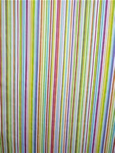 Stoff Auf Rechnung : deko gardinen stoff gardine vorhang kinder streifen bunt meterware ebay ~ Themetempest.com Abrechnung