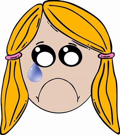 Sad Lady Clip Clipart Cliparts Clker Hi