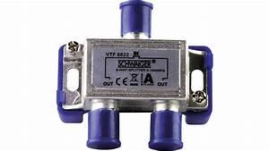 Kabel Tv Verteiler : schwaiger kabel tv verteiler vtf8822 2 fach 5 1000mhz a012 voelkner direkt g nstiger ~ Orissabook.com Haus und Dekorationen