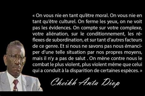 Cheikh Diop Quotes