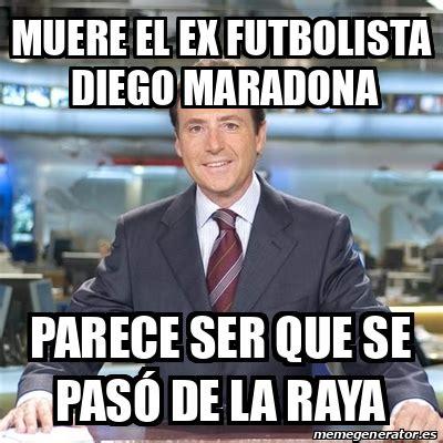 foto de Meme Matias Prats Muere el ex futbolista Diego Maradona