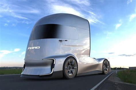 ford electric semi   fast lane truck