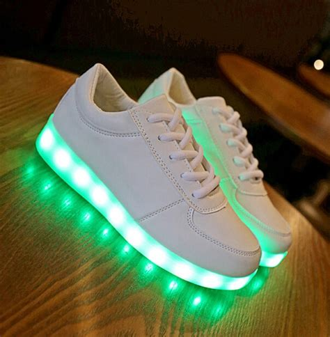 neon light up shoes led shoes for children fashion luminous sneakers boys