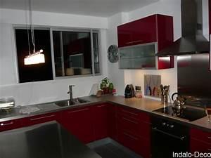 Ikea Plan De Cuisine : cuisine ikea rouge cuisine en image ~ Farleysfitness.com Idées de Décoration