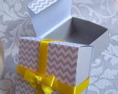 Caixinha Origami Retangular Elo7