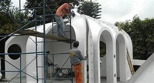 Maison Semi Enterrée : des modules pr fabriqu s pour maison semi enterr e en ~ Voncanada.com Idées de Décoration