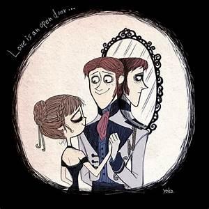 Frozen Tim Burton Style Fan Art