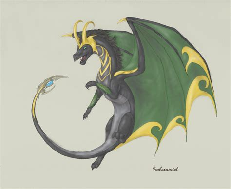 Loki Dragon By Imbecamiel On Deviantart