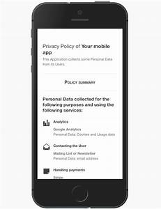 Terms Of Use And Privacy Policy Template Privacy Policy For Android Apps Template And Guide