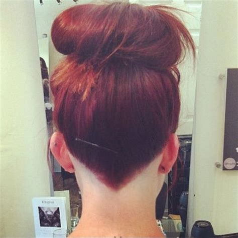 cool trend  hair image pointed undercut hair color