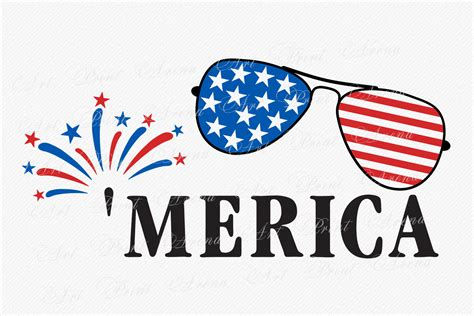 4th of july wouldn't be complete without a cute shirt to wear during all the action! Merica SVG America svg Fourth of July SVG 4th of July ...
